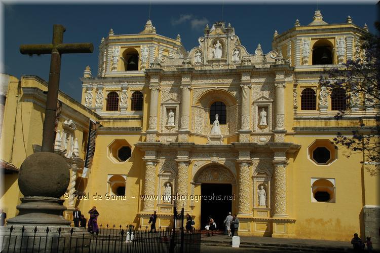Antigua: Iglesia de la Merced